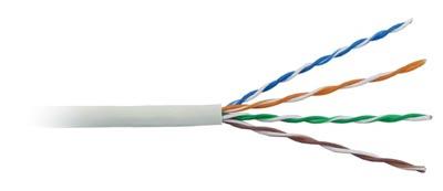 Cáp AMP CAT5E UTP (350 MHz) CMR (6-57826-2)