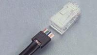 AMP Cat5e Modular Plug, Unshielded, stranded (5-558530-2)