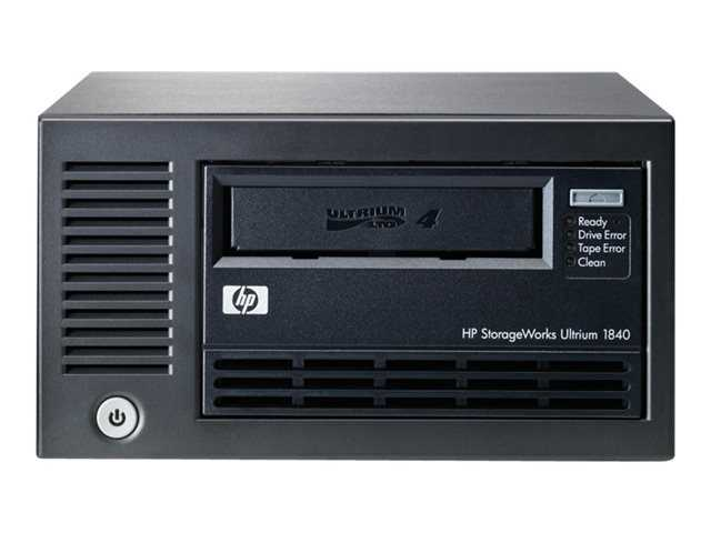 HP StoreEver LTO4 Ultrium 1840 SCSI External (EH854A)