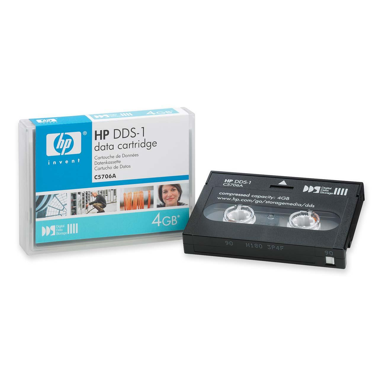 HP TAPE CARTRIDGE - HP DAT / DDS  (C5706A ,C5707A ,C5708A , C5718A )