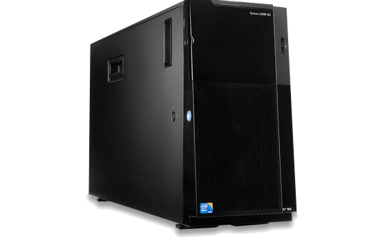 Server IBM x3500M4-Tower 5U - E5-2609 ( 7383B2A)