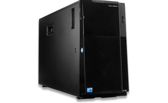 Server IBM x3500M4 Tower 5U-E5-2620 ( 7383C2A)