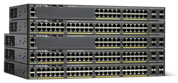 Cisco Catalyst WS -2960X-24PS-L PoE Switch