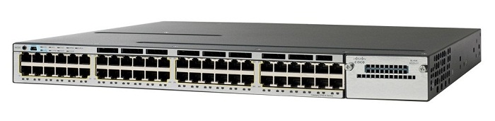 Cisco WS-C3750X-48T-S 48 Port Gigabit Stackable Switch