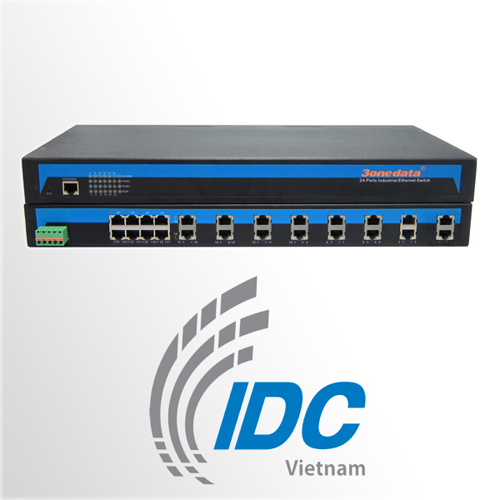 Bộ chuyển đổi  16 cổng RS232 sang Ethernet 10/100M