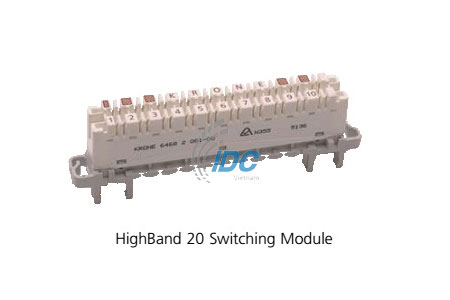 ADC KRONE CAT 5E HIGHBAND ™ 20 Pair Switching Modules (6468 5 081-00)