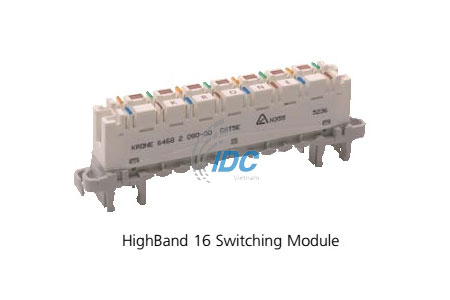 ADC KRONE CAT 5E HIGHBAND ™ 16 Pair Switching Modules (6468 5 080-00)