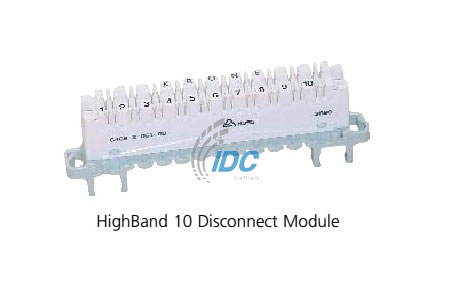 ADC KRONE CAT 5E HIGHBAND DISCONNECTION MODULE 10-PAIR (6468 2 061-00)