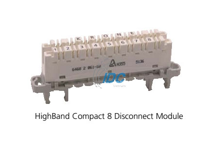 ADC KRONE CAT 5E HighBand Compact 8 Disconnect Module (6468 5 061-08)