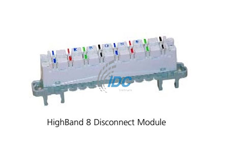ADC KRONE CAT 5E HIGHBAND DISCONNECTION MODULE 8-PAIR (6468 2 060-00)