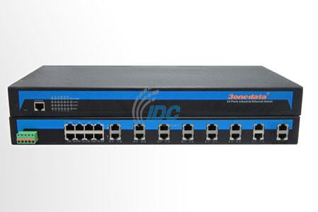 Bộ chuyển đổi 16 cổng RS232 sang Ethernet 10/100M 2 cổng Ethernet, 1U 19'' rack