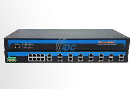 Bộ chuyển đổi 16 cổng RS232 sang Ethernet 10/100M 2 cổng Ethernet