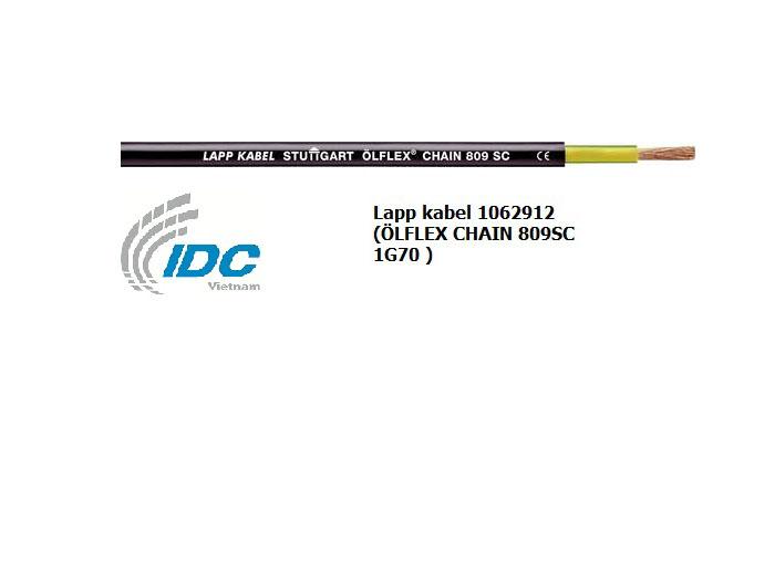 Lapp kabel 1062912 (ÖLFLEX CHAIN 809SC 1G70 )